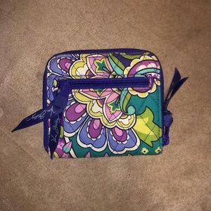 Vera Bradley Compact Zip Around Wallet in Heather